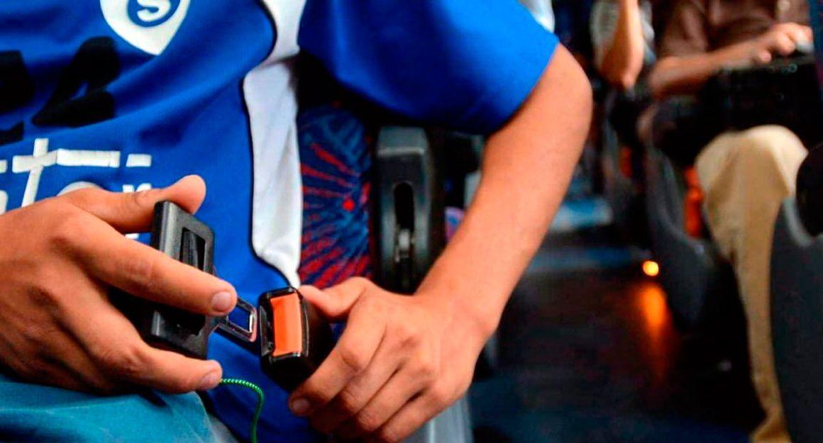 Cinturón de seguridad obligatorio
