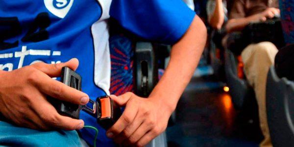 Cinturón de seguridad: Su uso será obligatorio en micros